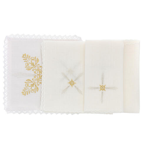 Altar cloths with flower decoration, Baroque style 2