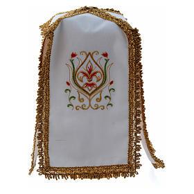 Pavillon de ciboire en croix pur coton s1