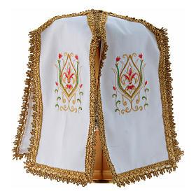 Pavillon de ciboire en croix pur coton s2