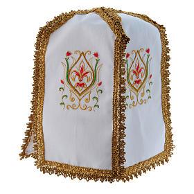 Pavillon de ciboire en croix pur coton s3