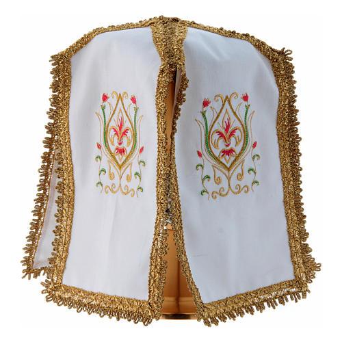 Pavillon de ciboire en croix pur coton 2