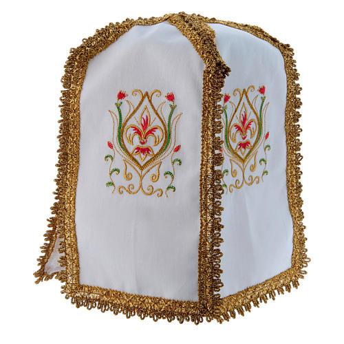 Pavillon de ciboire en croix pur coton 3