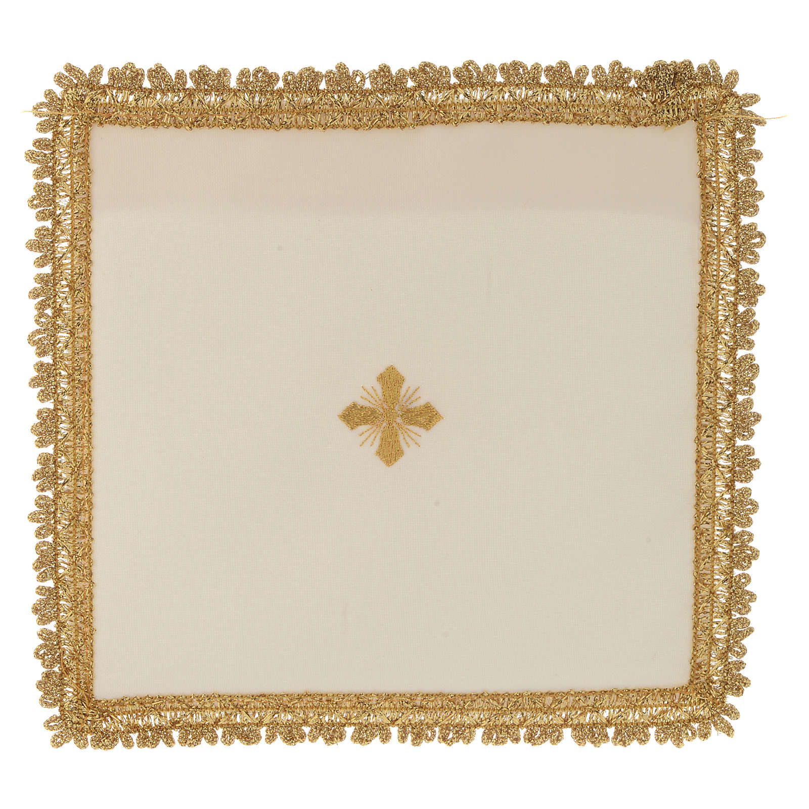 Chalice veil in polyester with removable card 4