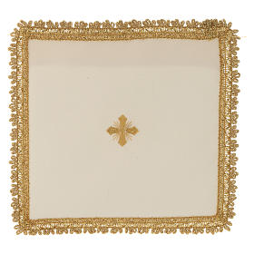 Chalice veil in polyester with removable card s5