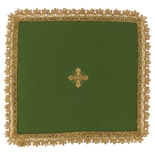 Chalice veil in polyester with removable card 3