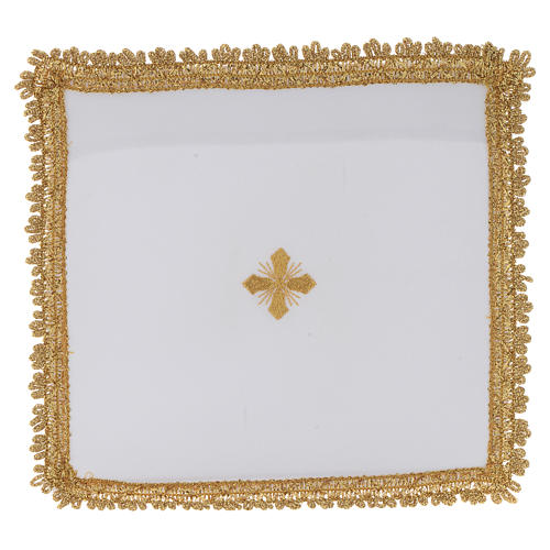 Chalice veil in polyester with removable card 6