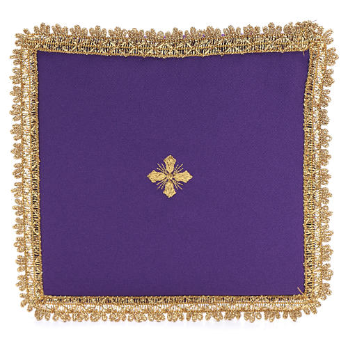 Chalice veil in polyester with removable card 1