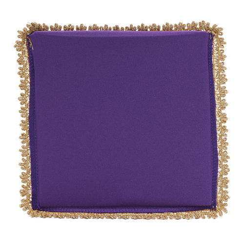 Chalice veil in polyester with removable card 2
