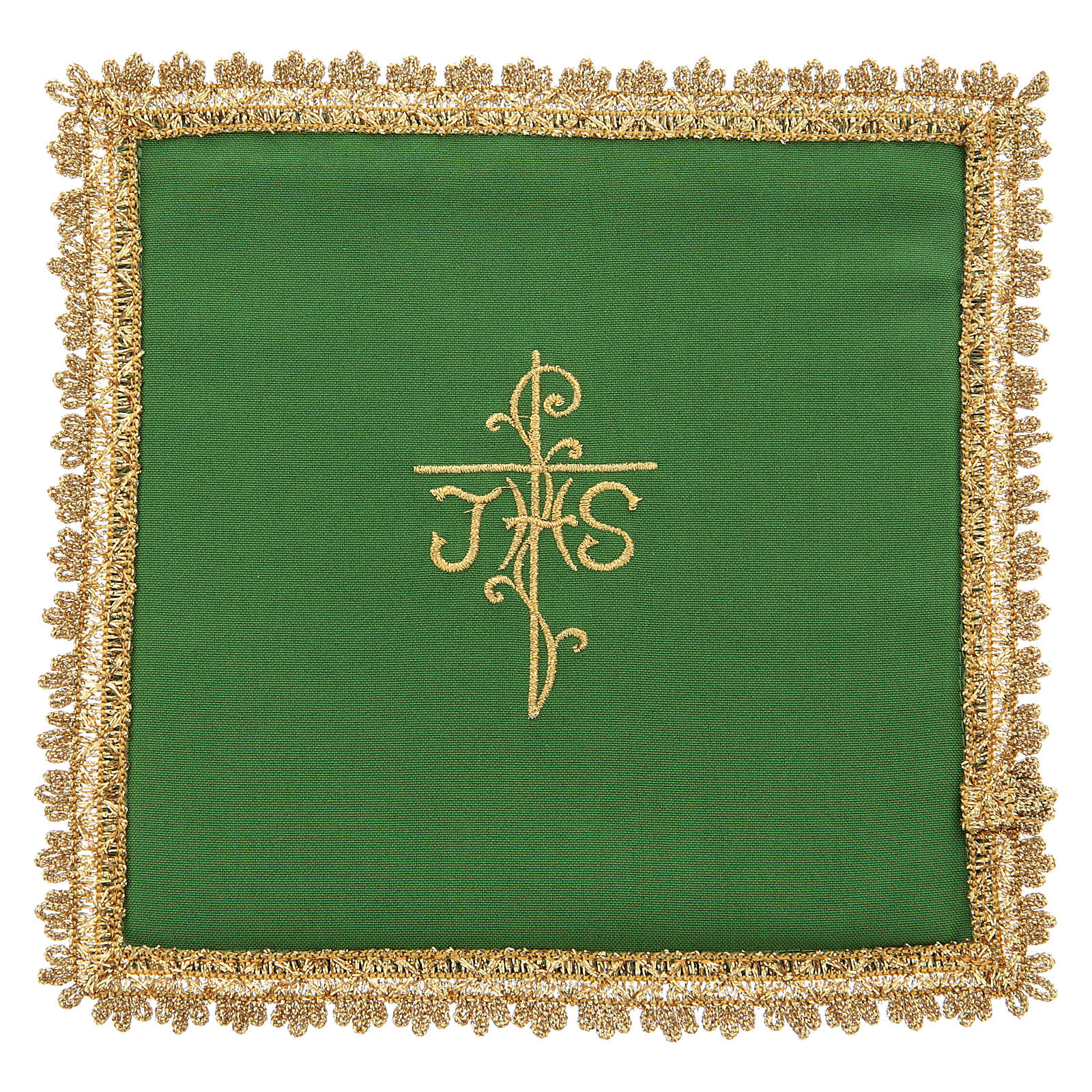 Chalice veil in Vatican fabric, polyester with removable card 4