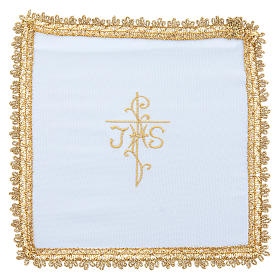 Chalice veil in Vatican fabric, polyester with removable card s5