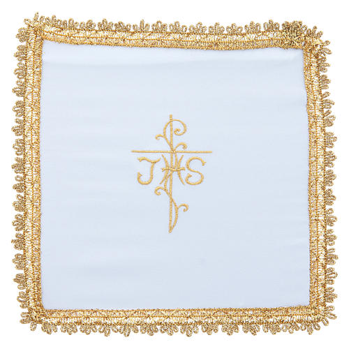 Chalice veil in Vatican fabric, polyester with removable card 5
