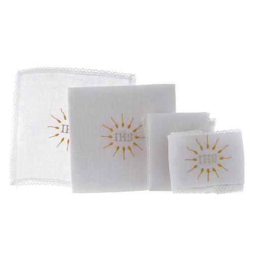 IHS Altar Linen Set 100% pure linen 2