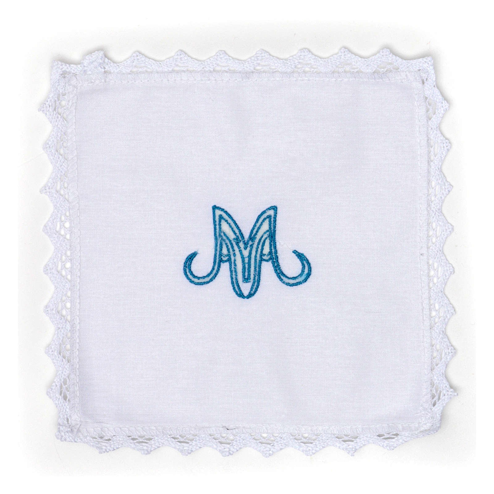 Marian Altar Set in pure linen 4