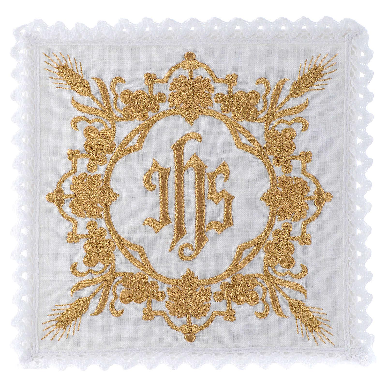 Mass linen set 100% linen IHS design 4