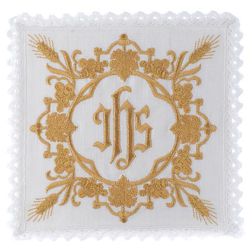 Mass linen set 100% linen IHS design 1