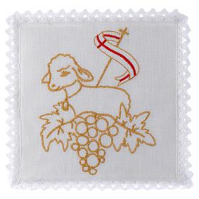 Mass linen set 100% linen Lamb of God s1