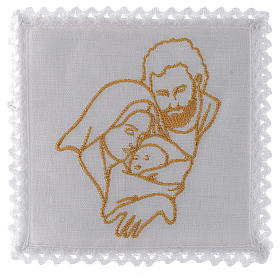 Mass linen set 100% linen Holy Family s1