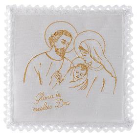 Altar linen set 100% linen Holy Family s1