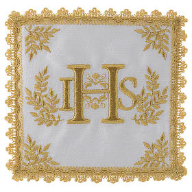 Conjuntos de Altar: Servicio de misa hilo IHS dorado