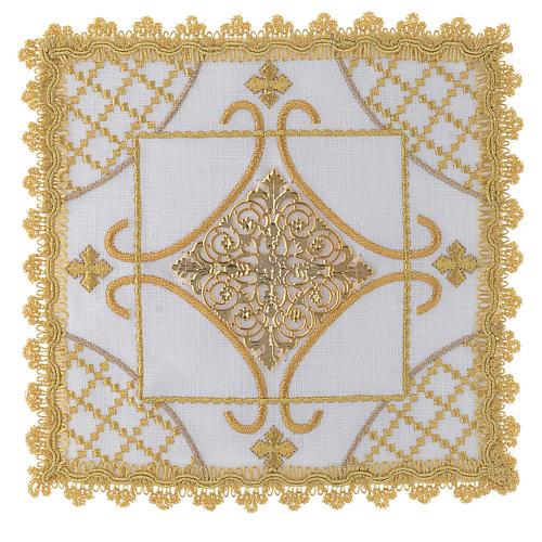 Servizio da mensa con decori in oro lino 1