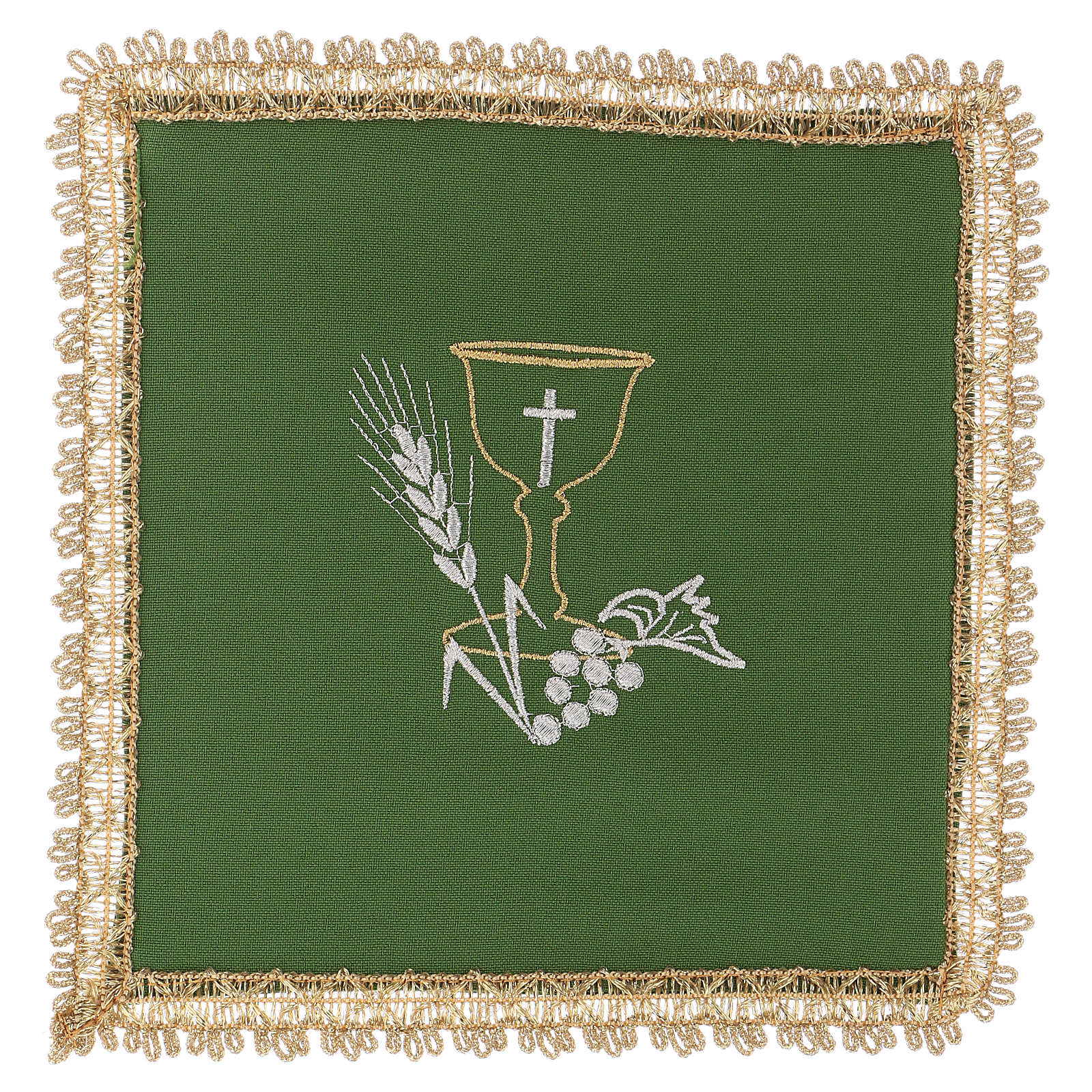 Chalice Veil (Pall) with Chalice decoration and Removeable Insert 4