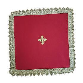 Copricalice (Palla) motivo croce cartoncino estraibile s2