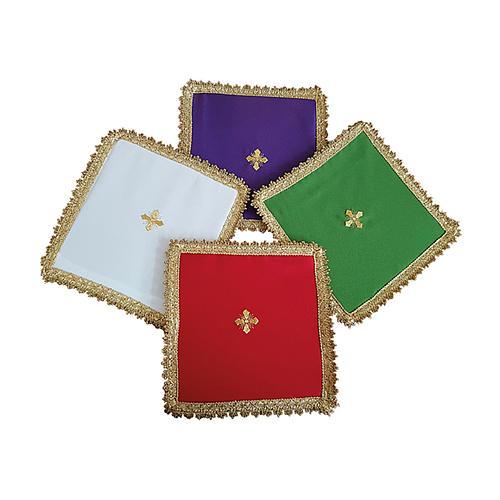 Copricalice (Palla) motivo croce cartoncino estraibile 1