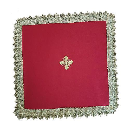 Copricalice (Palla) motivo croce cartoncino estraibile 2