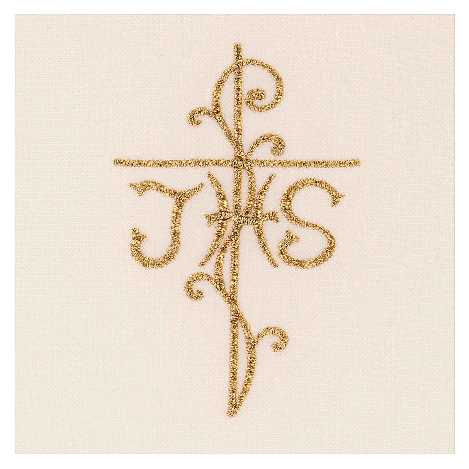 Copricalice (Palla) motivo IHS cartoncino estraibile 4