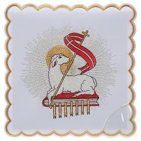Servizio da altare 100% poliestere Agnello Immolato s1