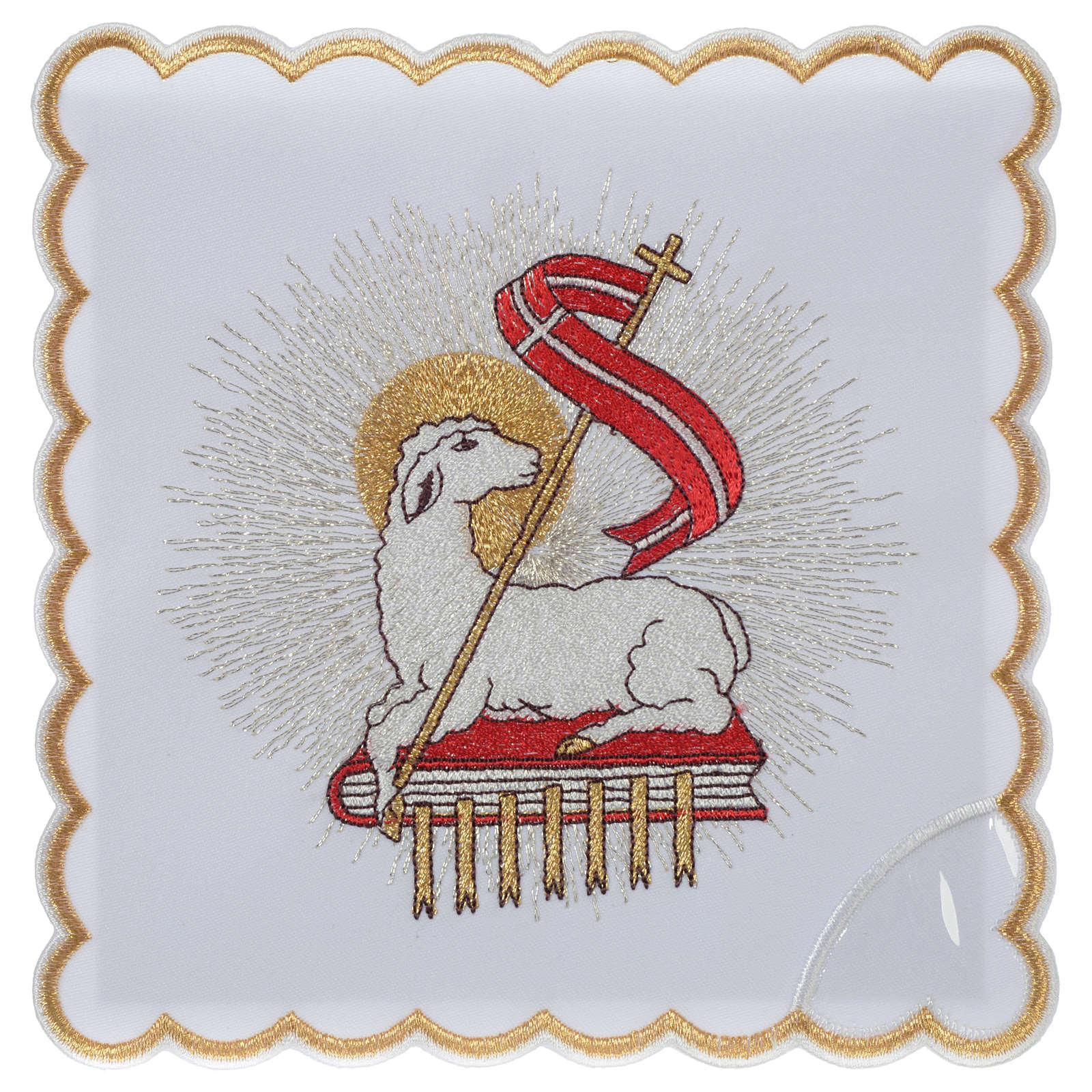 Mass linen set 100% polyester Lamb of God 4