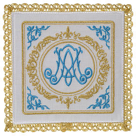 Linge d'autel 100% lin marial s1