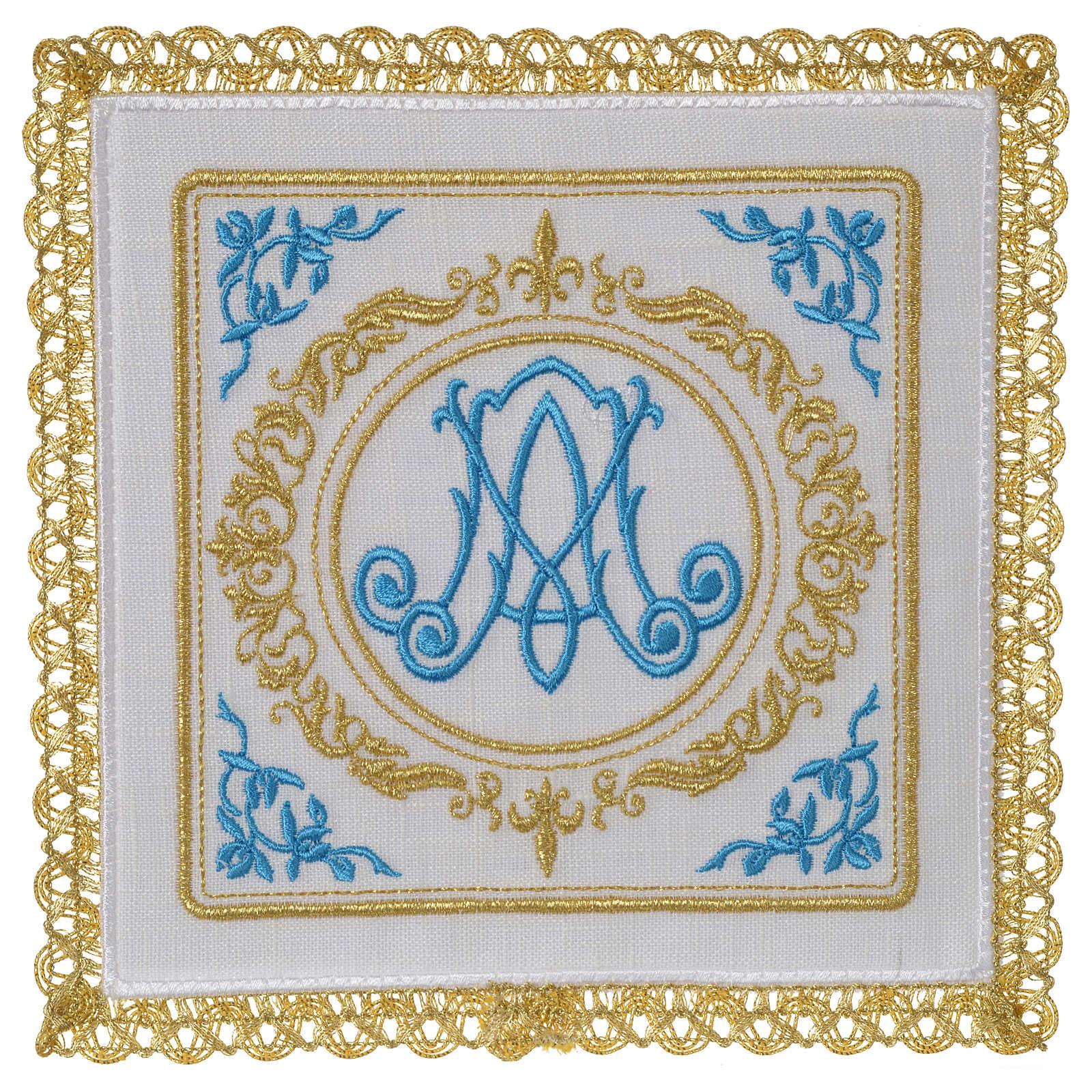 Servizio da altare 100% lino Mariano 4