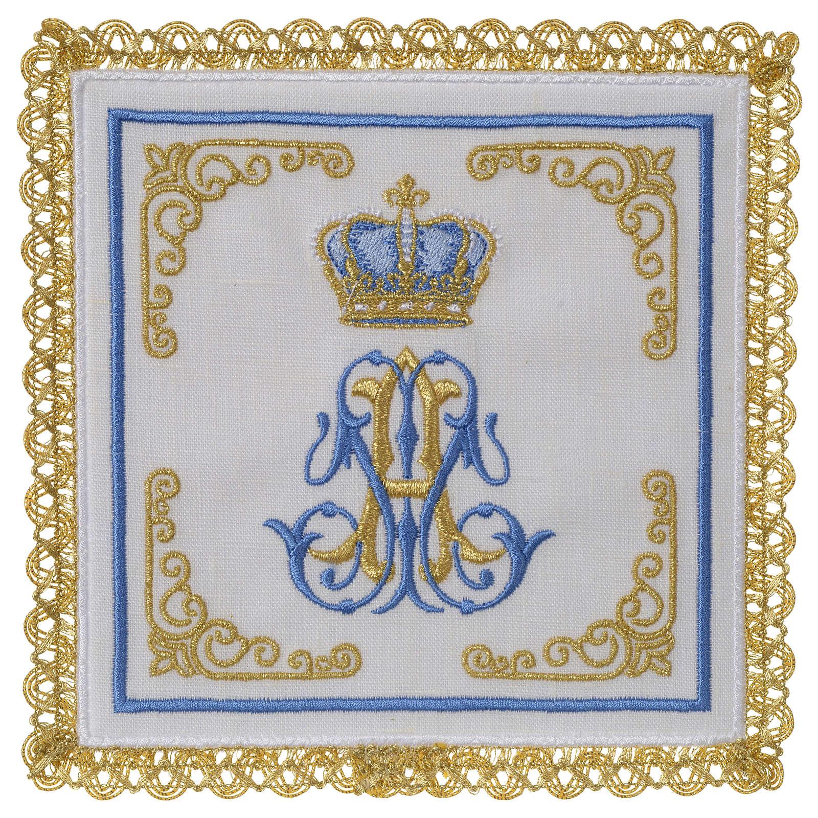 Servizio da altare 100% lino Mariano Corona 4