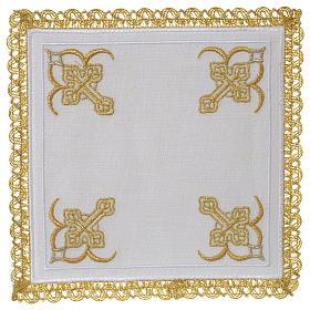 Servicio de altar 100% hilo cuatro Cruces s1