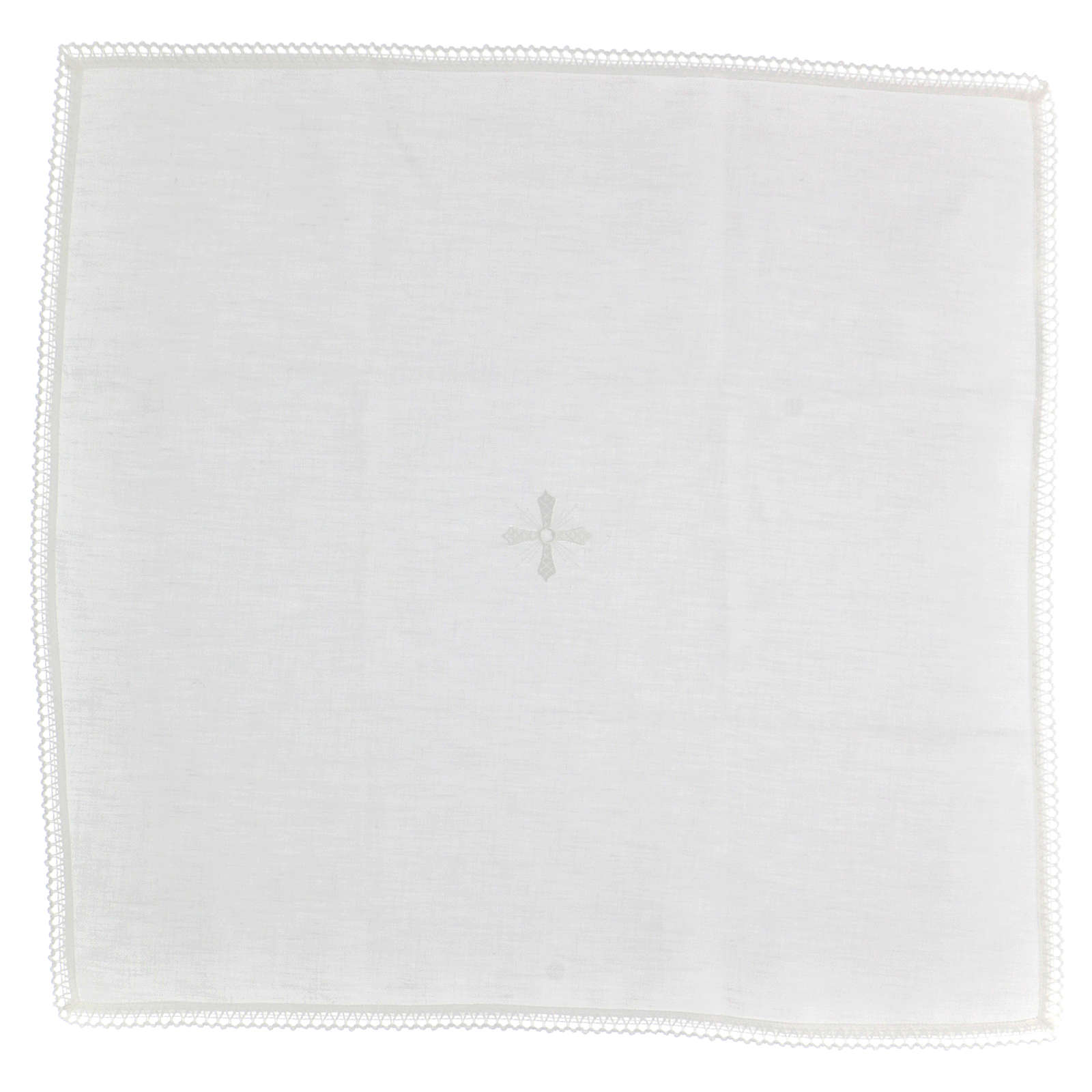 Corporal blanc 100% lin avec broderie blanche 4