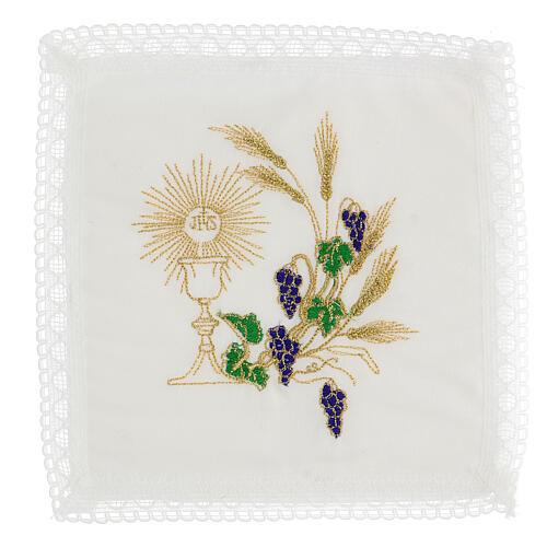 Altar linen set chalice and grape 100% cotton 1