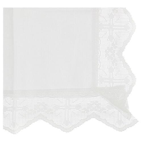Altar linen set chalice and grape 100% cotton 3