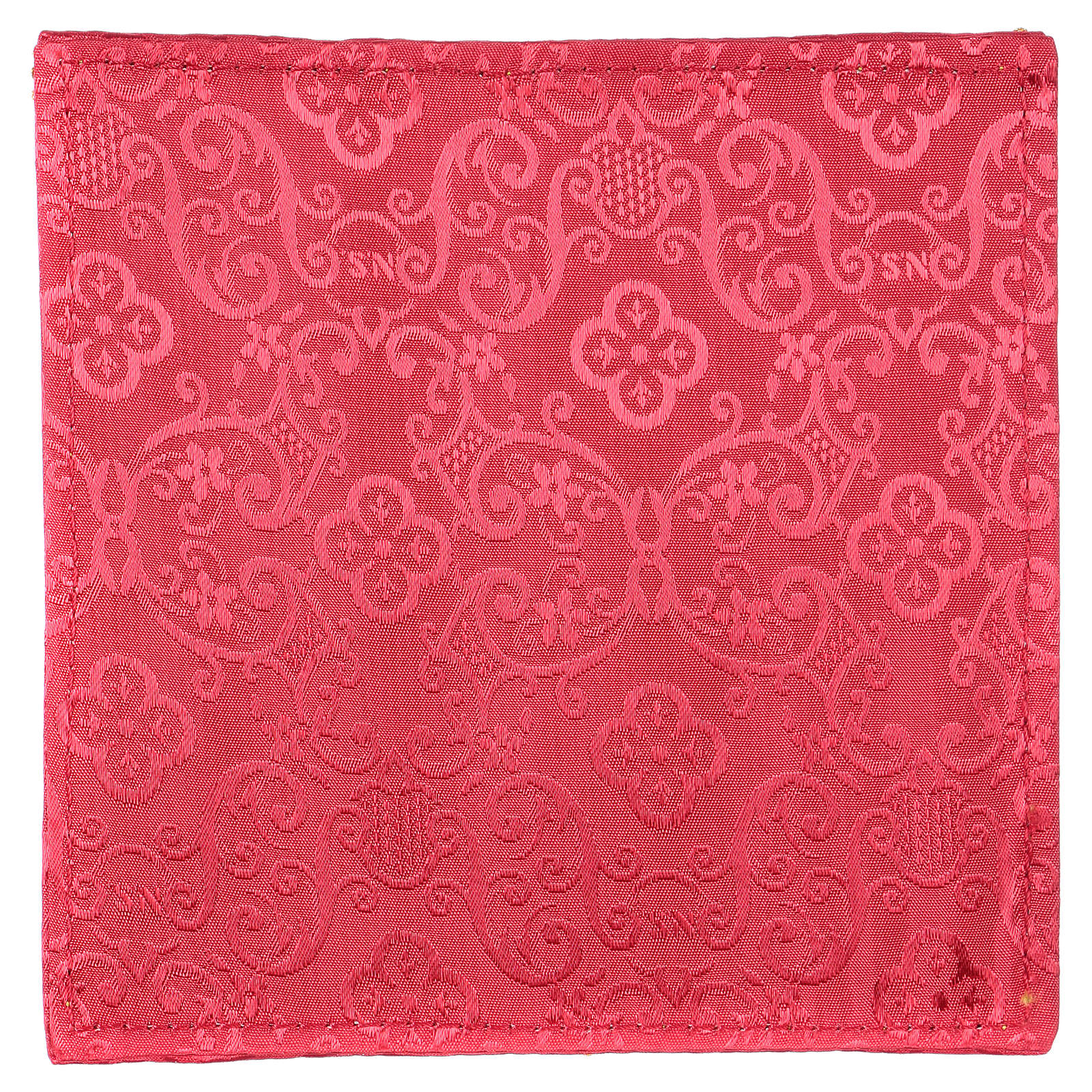Chi-Rho chalice pall red jacquard 4