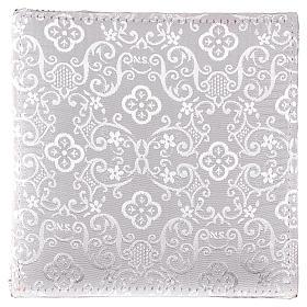 Chi-Rho chalice pall white jacquard s3
