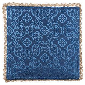 Pale calice et raisin damassé bleu s3
