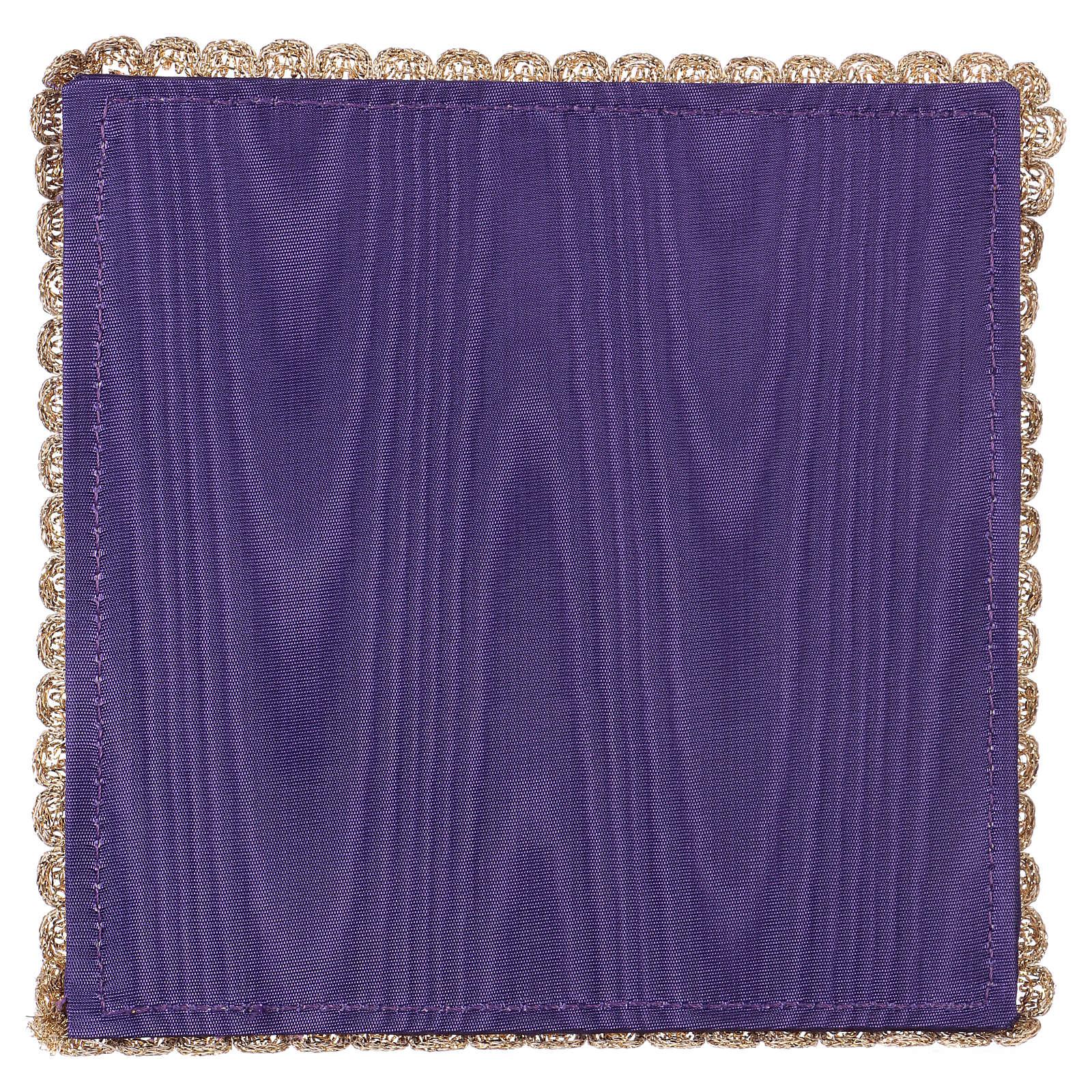Palia cubre cáliz raso violeta con cáliz y uva 4