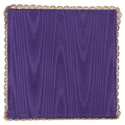 Palia cubre cáliz raso violeta con cáliz y uva 3