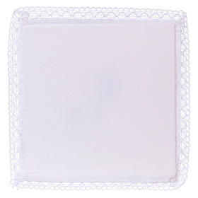 Chalice veil (pall) with Xp symbol 100% cotton s2