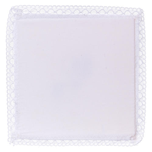 Chalice veil (pall) with Xp symbol 100% cotton 2
