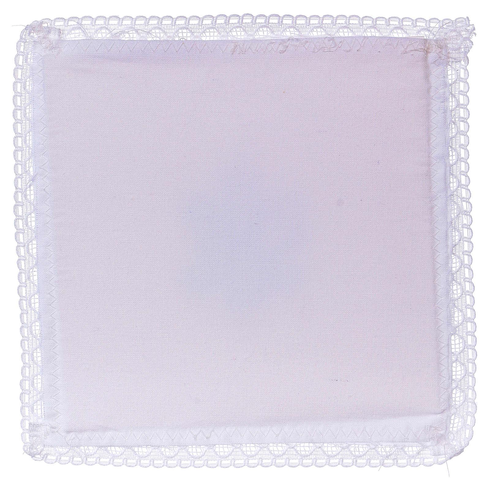 Cubre cáliz (palia) IHS tejido 100% algodón 4