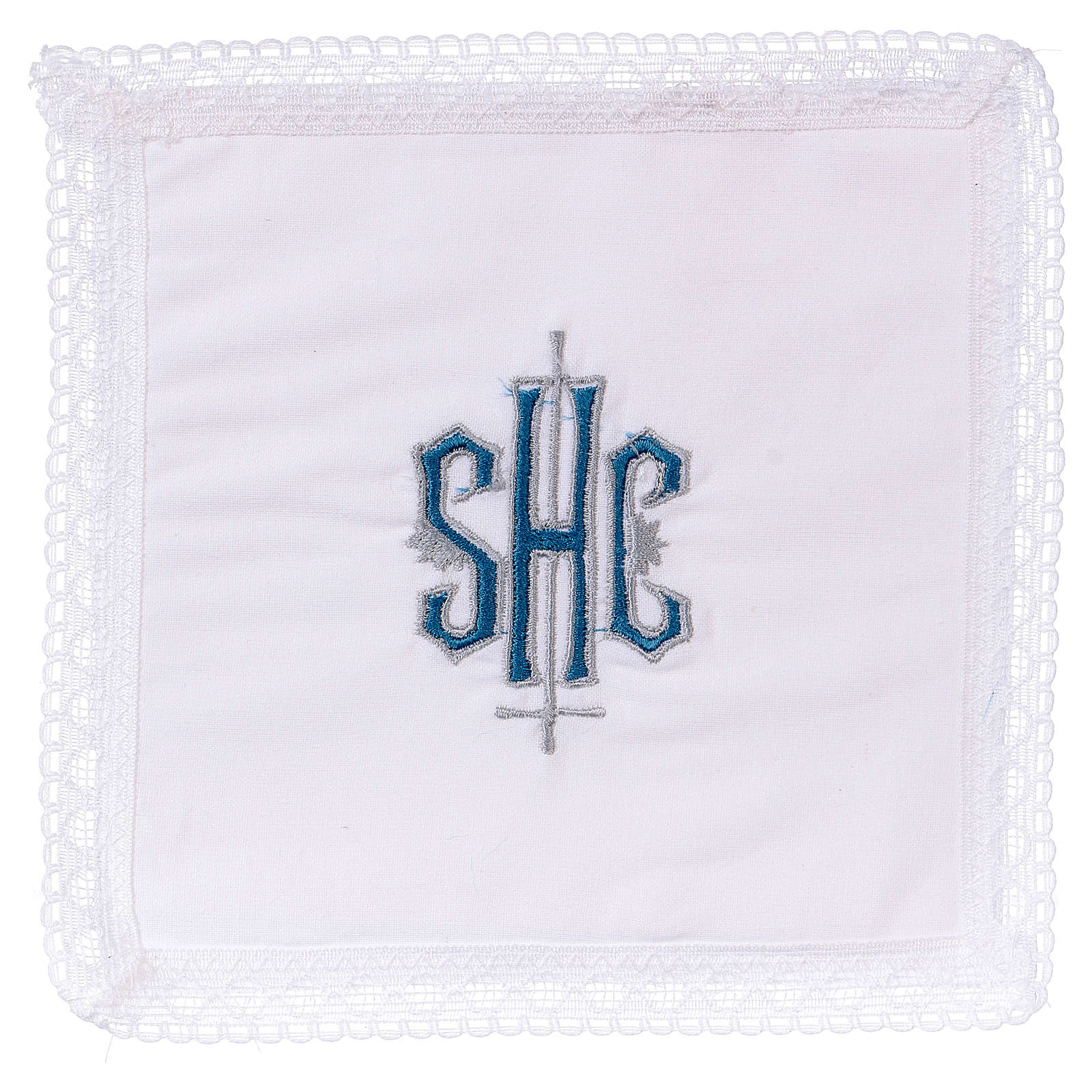 Pall chalice with IHS symbol, 100% cotton 4