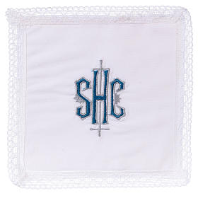 Pall chalice with IHS symbol, 100% cotton s1