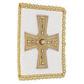 Linge d'autel 4 pcs 100% LIN broderies décorations or applications Édition Limitée s3