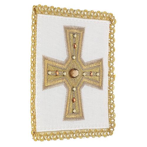 Linge d'autel 4 pcs 100% LIN broderies décorations or applications Édition Limitée 3